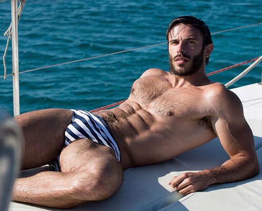 Speedos on the Yacht