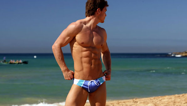 Blue AussieBum Swimwear
