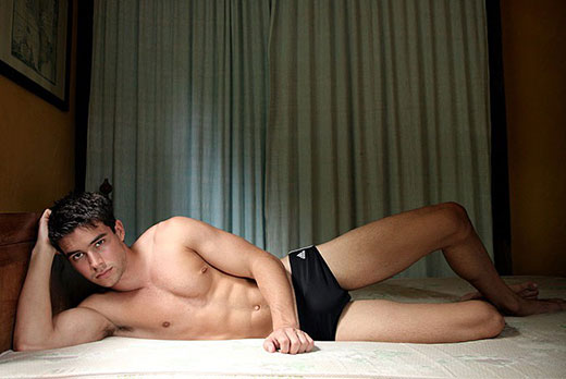 Black ADIDAS Swim Brief