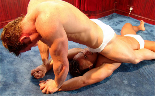 gay male submission wrestlin