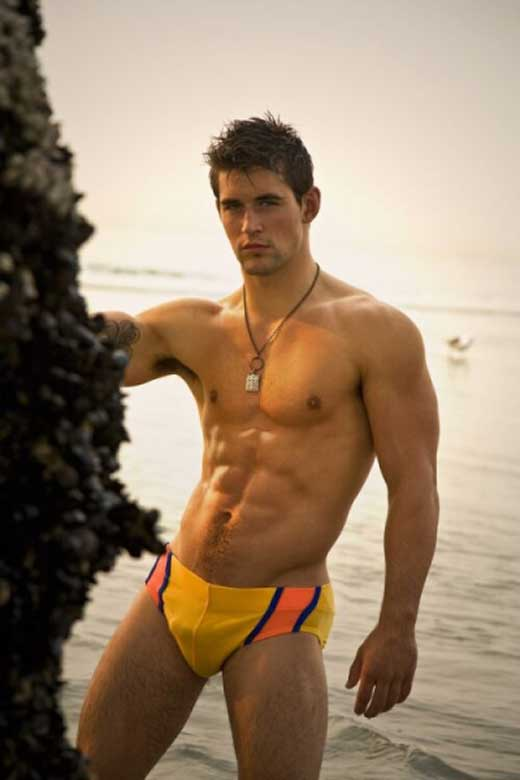 Speedo Model Benjamin Godfre