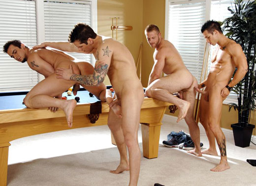 Foursome gay sex